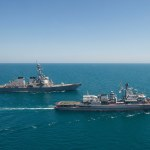 В Одессу прилетел американский военный самолет