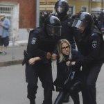 Полиция грамотно пресекла Майдан навальнистов в Москве