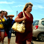 Украинские туристы продолжают массово ехать в Крым