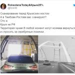 Укропатриоты в шокинезе: на Крымском мосту начали сканирование