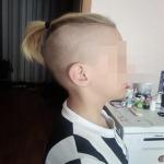 Красноярские чиновники разрешили школьнику ходить с волосами, собранными в пучок