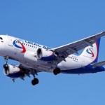 Над Донбассом зафиксировали пассажирский самолет